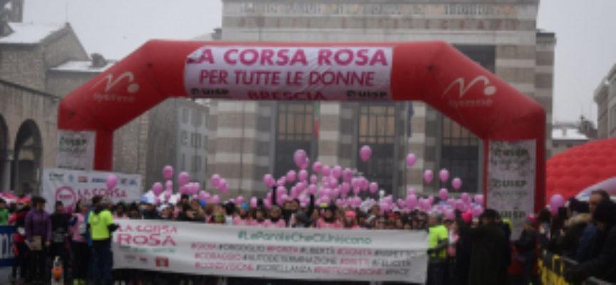 una corsa in rosa per promuovere la parità tra uomo e donna