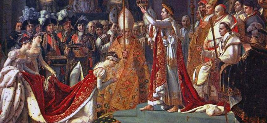 Il 9 marzo 1796 Napoleone sposa Giuseppina di Beauharnais.