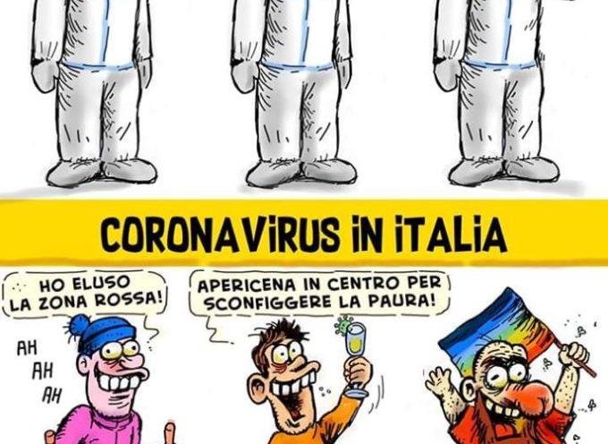 IL CORONAVIRUS COME VIENE VISSUTO IN ITALIA