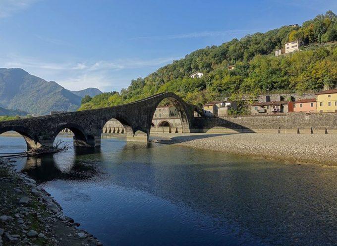 il Ponte del Diavolo.. Borgo a Mozzano consoliamoci con questa foto