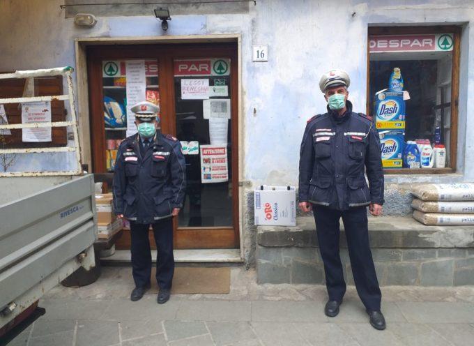a Fabbriche di Vallico i vigili urbani per dare risposte ai nostri abitanti e verificare il rispetto dell'ordinanza sul coronavirus