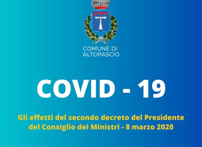 CORONAVIRUS – Ecco cosa prevede il nuovo decreto firmato dal Presidente del Consiglio dei Ministri, valido fino al 3 aprile