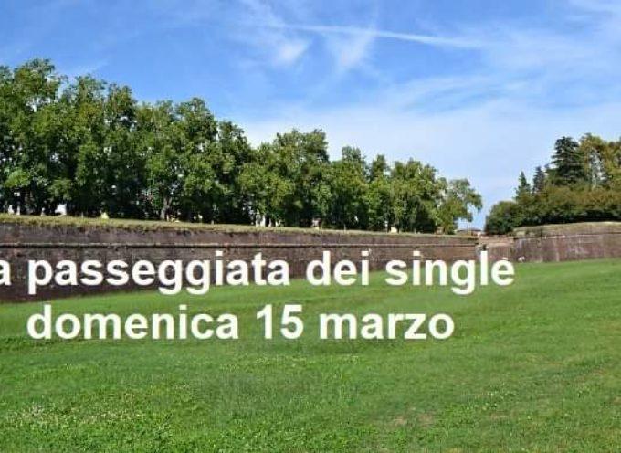 Lucca La passeggiata dei single della Toscana