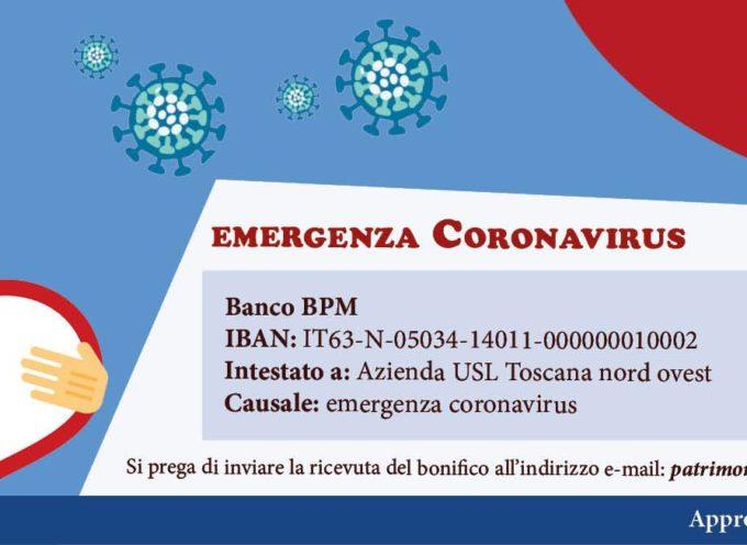 DONAZIONI PER EMERGENZA COVID-19