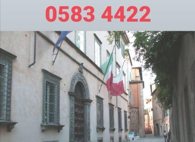 Il Comune di Lucca sarà chiuso al pubblico fino a domenica 15 marzo