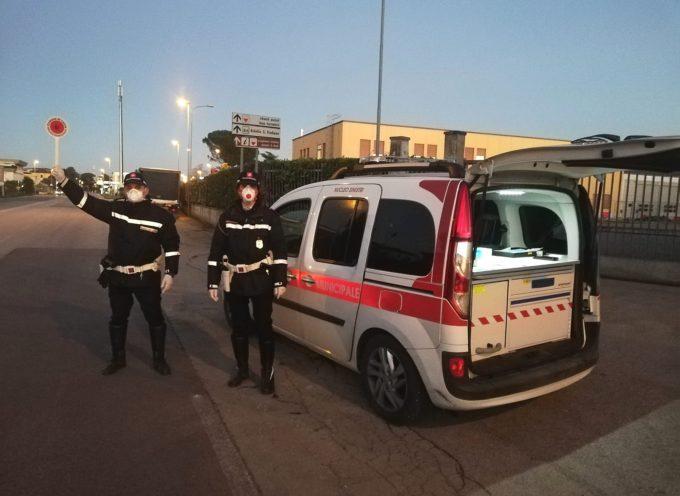 lucca – Controlli della Polizia municipale ieri (11 marzo)