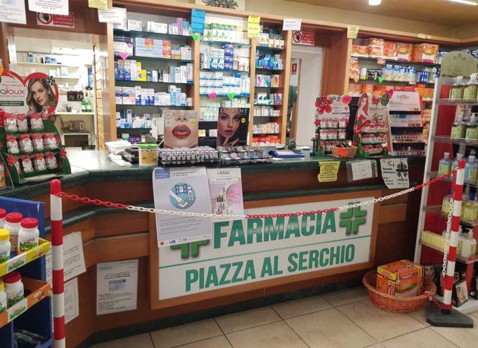 Farmacia Piazza al Serchio per tutelare la salute di tutti lavorerà a battenti chiusi ma farmacia aperta.