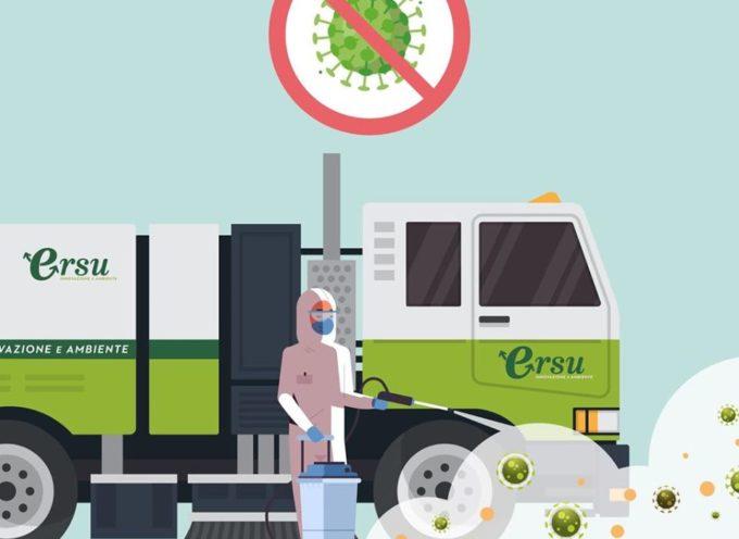 MASSAROSA – Coronavirus – Avviata oggi la sanificazione di alcune strade del territorio