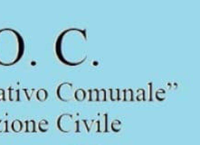 A Porcari apre il COC di Protezione Civile.