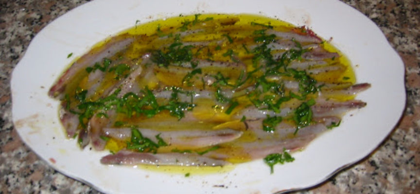 LE ACCIUGHE MARINATE