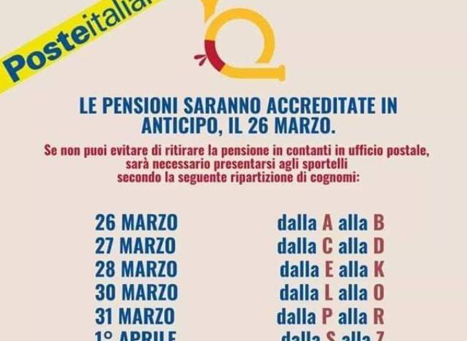 Orario e apertura ufficio postale di Borgo a Mozzano e programma pagamento pensioni.