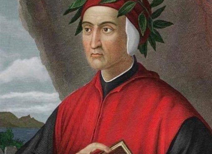 """Oggi si celebra il """"Dantedì"""", il giorno dedicato a Dante Alighieri, sommo poeta, letterato, politico e studioso"""