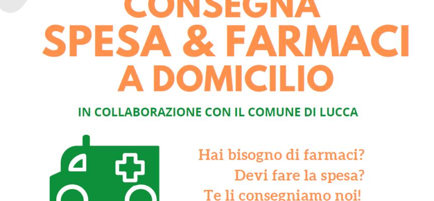 LA CROCE VERDE DI LUCCA – CONSEGNA SPESA E FARMACI A DOMICILIO: