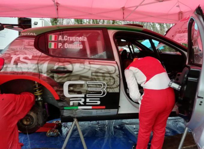 Crugnola effettua i primi test in Garfagnana con la Citroen C3 R5