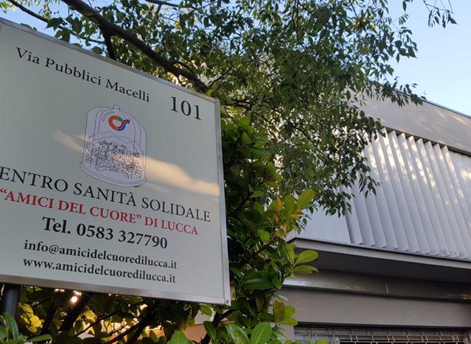 """50 medici specialisti a disposizione per consulti gratuiti on line, grazie all'associazione """"Amici del Cuore"""" di Lucca – Centro di Sanità Solidale"""