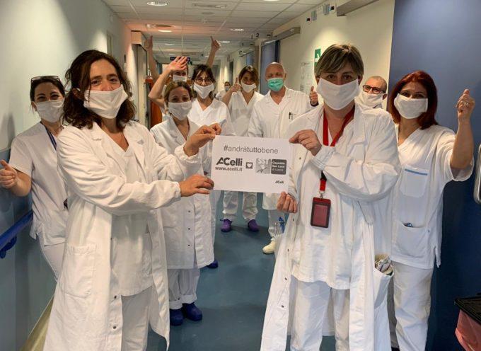 Il Gruppo A.Celli a sostegno dell'ospedale di Lucca contro l'emergenza Covid-19: donato un ecografo portatile