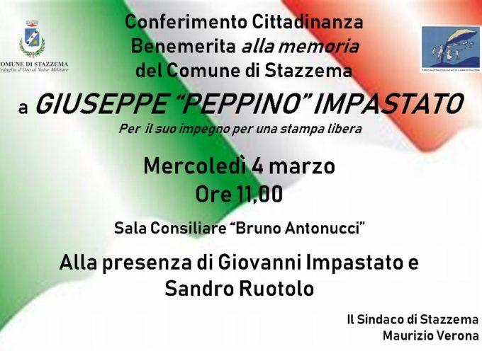 Stazzema concederà la cittadinanza onoraria a Peppino Impastato in nome della Libertà di stampa