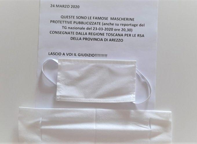 Mugnai e Marchetti: subito dispositivi di protezione validi nelle RSA