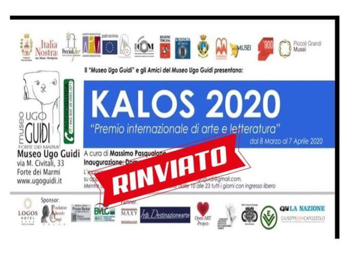Premio KALOS – Premiazione rinviata al 19 aprile