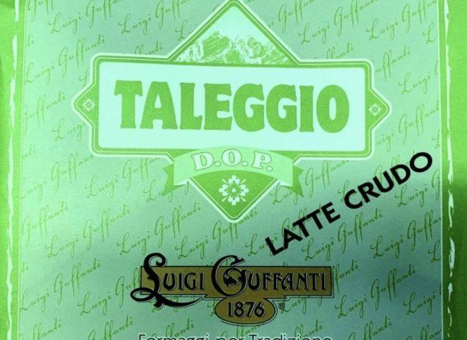 richiamato taleggio dop a latte crudo incarto verde a marchio LUIGI GUFFANTI 1876