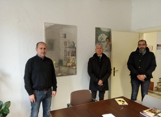 Il nuovo dirigente del Commissariato di Forte dei Marmi in visita al Comune di Stazzema