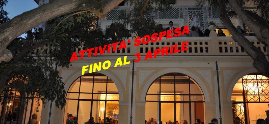 LA PROVINCIA CHIUDE AL PUBBLICO LE PROPRIE STRUTTURE MUSEALI E IL CANTIERE GIOVANI FINO AL 3 APRILE