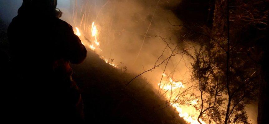 Ancora fiamme nella notte: domato un incendio a Sant'Anna di Stazzema