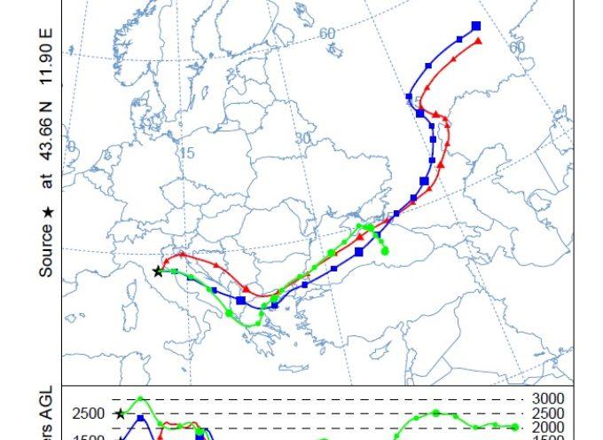 Valori anomali di PM10 in Toscana il 28 e 29 marzo