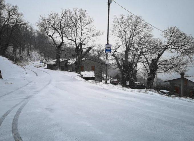 Neve sopra i 1000 metri, colpo di coda dell'inverno