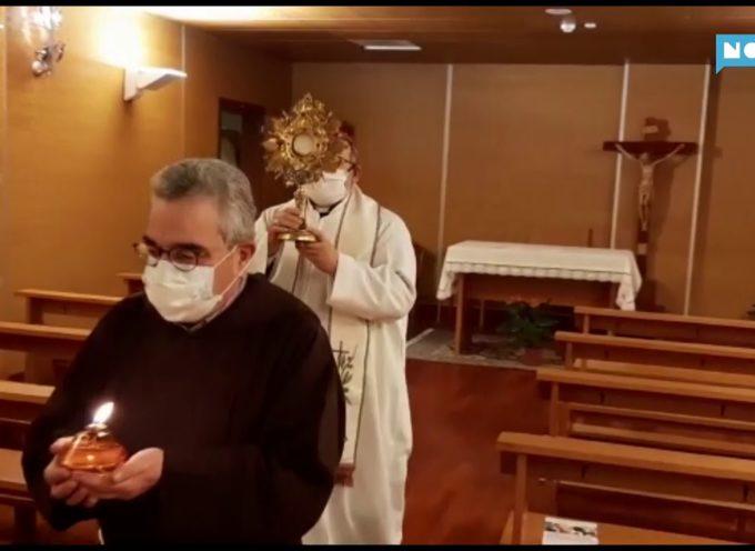 Il Vescovo in visita al San Luca: incoraggiamento ai malati e al personale sanitario