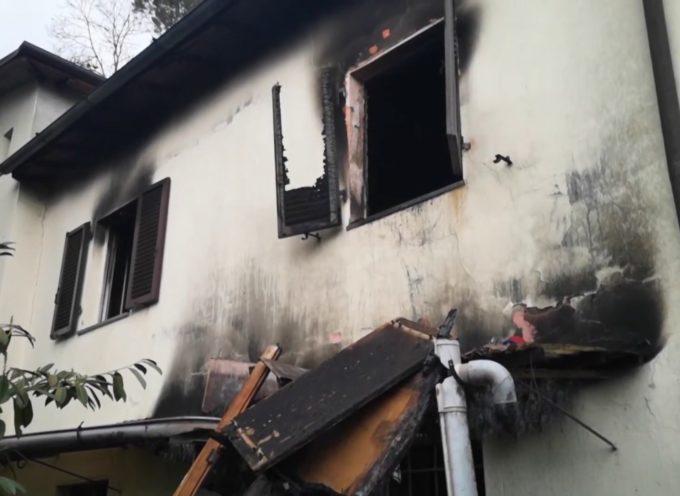 Incendio distrugge abitazione a Lucignana