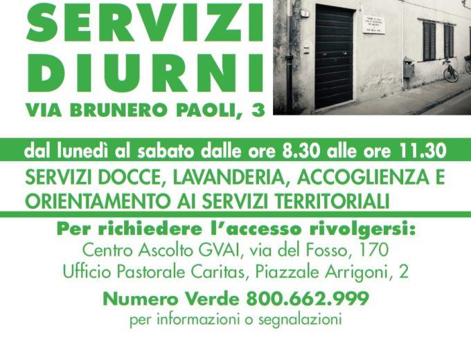 Servizio docce, lavanderia accoglienza e orientamento per i più deboli: aperto il nuovo Spazio servizi diurni di via Brunero Paoli