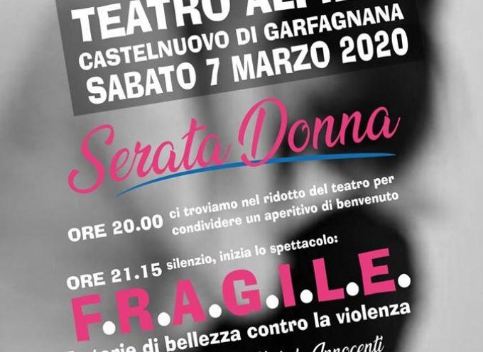 Serata Donna al Teatro Alfieri – di Castelnuovo di Garfagnana