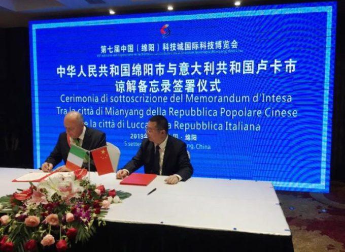 Solidarietà e aiuto dalla Cina a Lucca per l'epidemia di coronavirus: