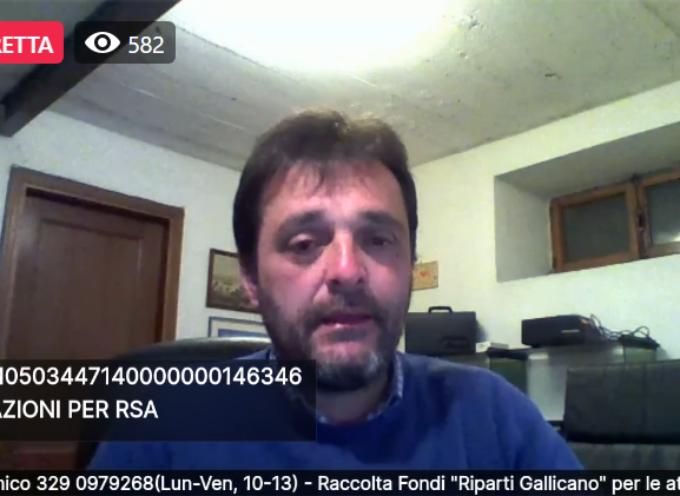 Aperto un Conto per aiutare l'RSA Paoli Puccetti  di Gallicano