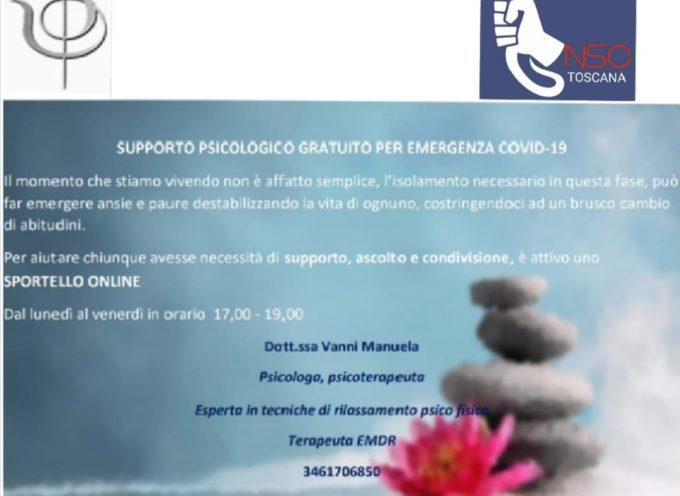 NUOVO SINDACATO CARABINIERI – sportello di supporto psicologico telefonico gratuito