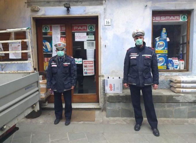 Vigili urbani a Fabbriche di Vallico. Giannini – Un grazie di cuore profondo