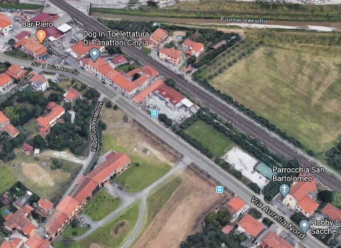 Ponterosso/Crociale: nuovo marciapiede e fognatura bianca dalla Chiesa San Bartolomeo alla piazzetta commerciale