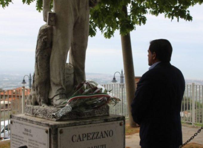 1 maggio, l'amministrazione comunale a Capezzano Monte