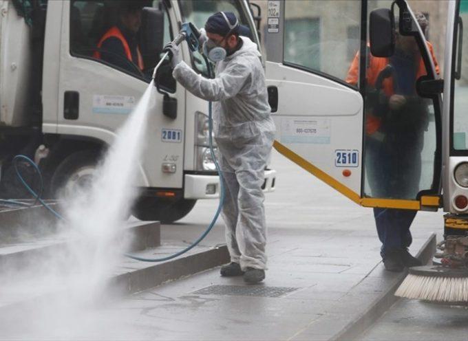 Coronavirus, valanga di richieste per sanificare locali e aree: