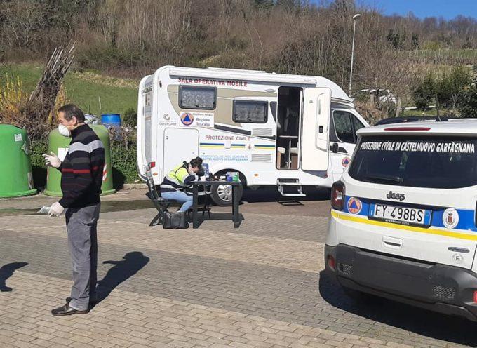 Continua a cura della Protezione Civile DI CASTELNUOVO DI GARFAGNANA il servizio di info point