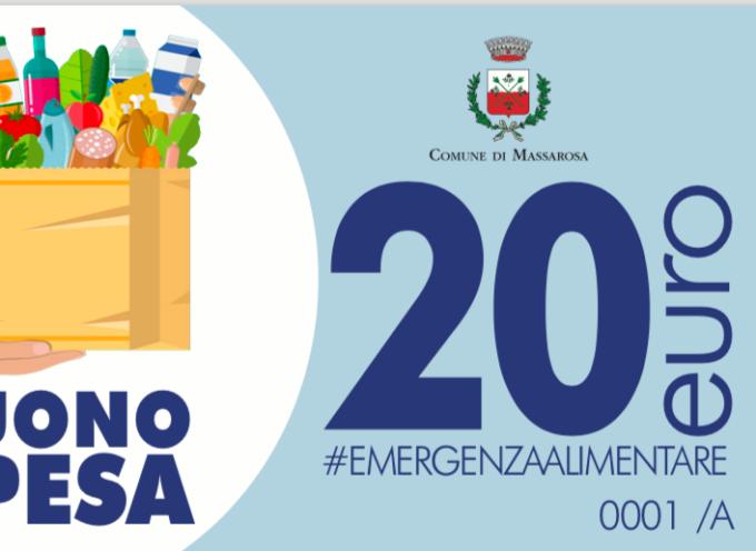 MASSAROSA – Buoni spesa per chi ne ha bisogno.