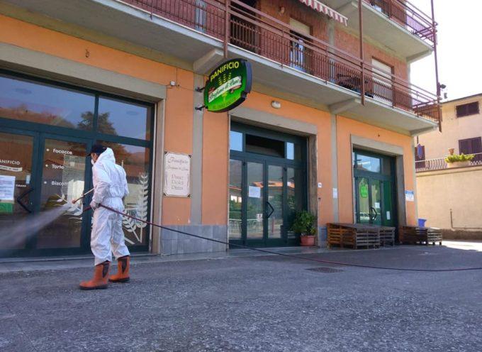In corso oggi a Castelnuovo la sanificazione delle aree pubbliche