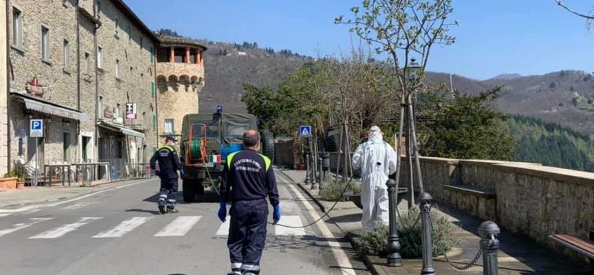 Partita la Sanificazione del Comune di Castiglione di Garfagnana,