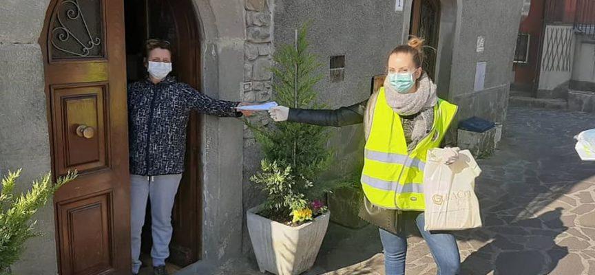 Iniziata questa mattina la distribuzione  DELLE MASCHERINE a Castelnuovo di Garfagnana