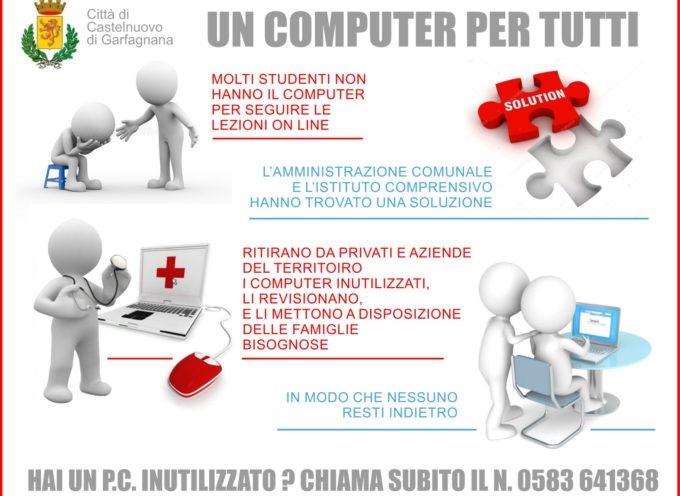 CASTELNUOVO DI GARFAGNANA – UN COMPUTER PER TUTTI
