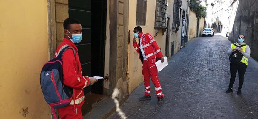 Lucca – ieri Prima giornata di distribuzione delle mascherine