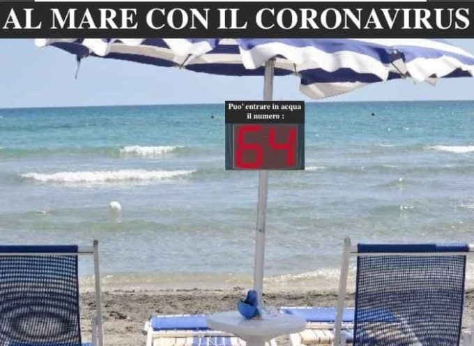 AL MARE CON IL CORONAVIRUS…..