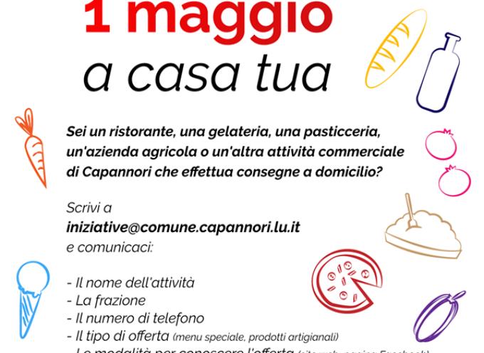 CAPANNORI – 25 APRILE – 1 MAGGIO A CASA TUA