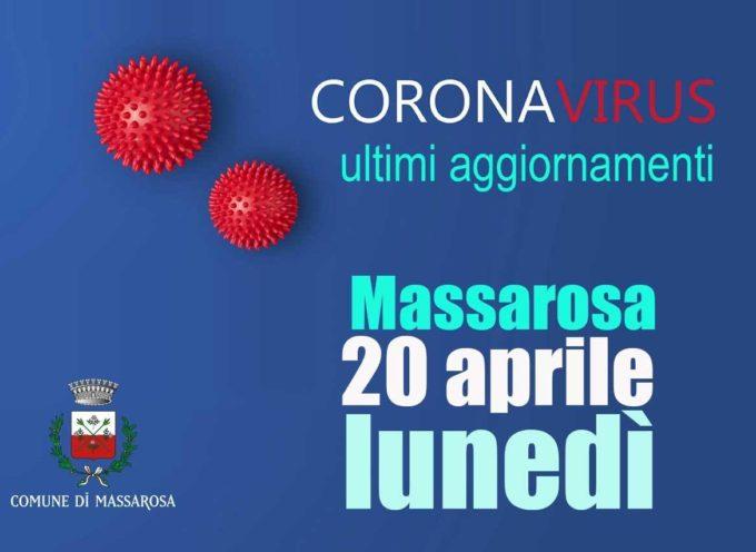 coronavirus aggiornamento 20 aprile
